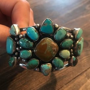 Jewelry - Genuine Turquoise Cuff